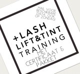 lashlift cursus wimperlift