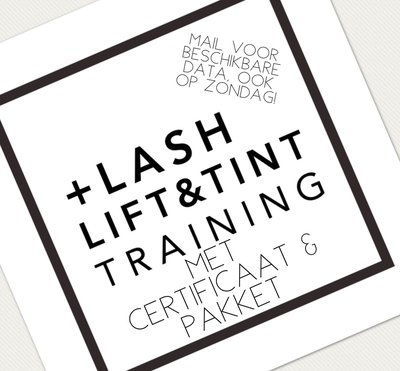 L'Avely Privé Lash Lift training